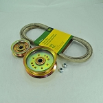 John Deere 42-inch Mower Deck Drive Belt and Idler Kit - GX20072KIT1