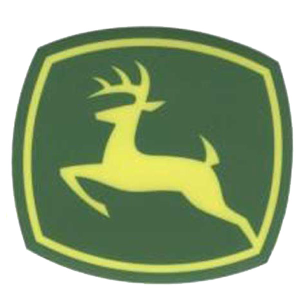 John Deere Leaping Deere 2000 Trademark Logo Decal Jd5739