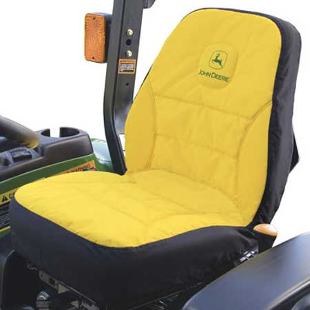 11 Inch Riding Mower Standard Seat Cover Cushioned Covers Protect New Seats And Renews Old Four Conventional Pockets Keep Tools Gear