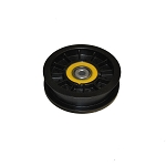 John Deere Transmission Drive Belt Flat Idler Pulley - AM121801