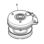 John Deere Electromagnetic PTO Clutch Assembly - AM144169