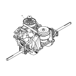 John Deere Complete Transmission Assembly - AUC11077
