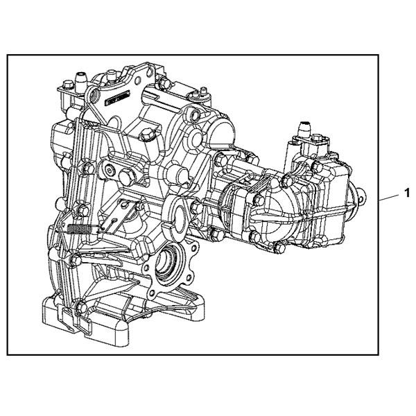 John Deere Transaxle Assembly - MIA13019