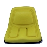 John Deere Complete High-Back Seat - AM105898
