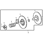 John Deere Secondary Clutch - AM138516