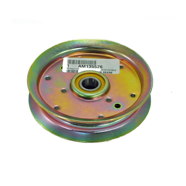 John Deere Flat Idler Pulley - AM135526