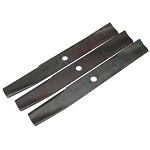 John Deere Standard Lift Mower Blades (three required)(46-inch cut)(Replaces AM31100) - M41967