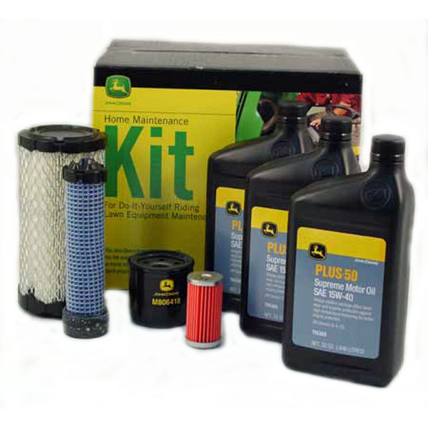 John Deere Home Maintenance Kit (Yanmar Diesel with CH15553 fuel filter) - LG243