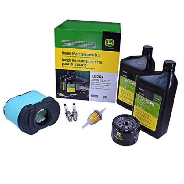 John Deere Home Maintenance Kit (Briggs & Stratton V-Twin - ELS, OHV) - LG264