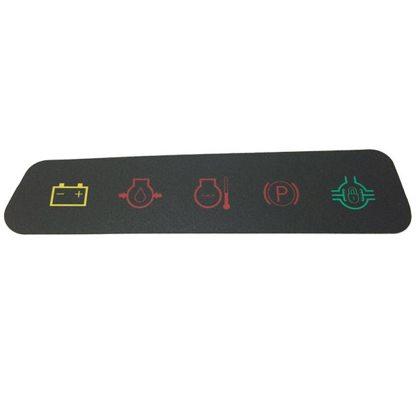 1010 John Deere Dash Light : John deere dash panel decal m