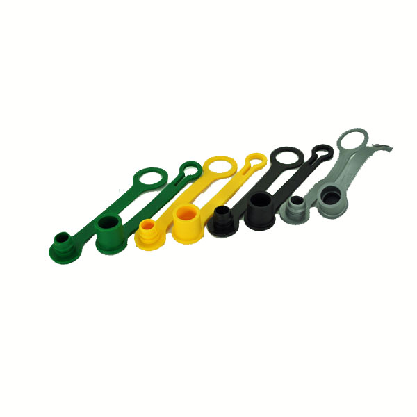 John Deere Colored Hydraulic Cap and Plug Kit - PLUGKIT