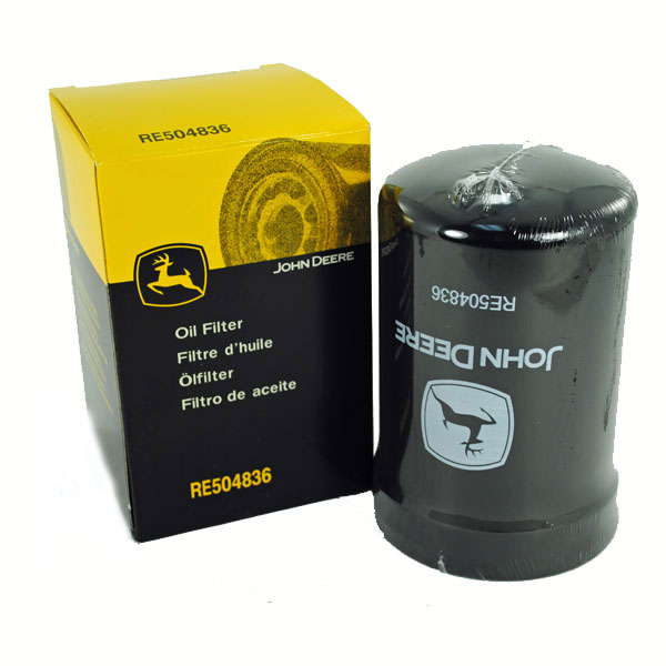 John Deere Engine Oil Filter - RE504836