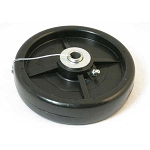 John Deere Gauge Wheel - With grease zerk - See detailed description for specs - AM107560