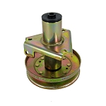 John Deere Mower Deck Blade Spindle Assembly with Drive Pulley - AM128048