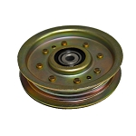 John Deere Flat Idler Pulley - AM136621