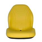 John Deere Yellow Vinyl Bucket Seat - AM138194