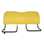 John Deere Yellow Bench Seat Back - AM140623