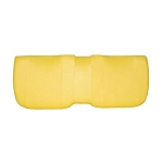 John Deere Yellow Bench Seat Bottom - AM140624