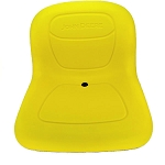 John Deere Complete High-Back Seat Assembly - AM144591 - See product detail for serial number range