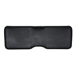 John Deere Black Bench Seat Back - AM147577