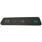 John Deere Dash Panel Decal - M127611