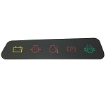 John Deere Dash Panel Decal - M127612