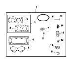 John Deere Carburetor Repair Kit - MIA11779