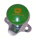 John Deere Steering Wheel Spinner Knob - 2000 Logo - PM00966