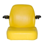 John Deere Deluxe Seat Assembly with Armrests  - TCA23663