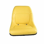 John Deere Deluxe High Back Seat - AM117489