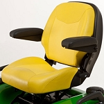 John Deere 21-inch Professional Two-Piece Seat with Four-Bar Suspension and Slide - BUC10625