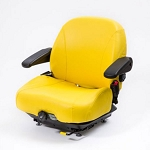 John Deere Yellow Vinyl Seat Assembly - TCA25182