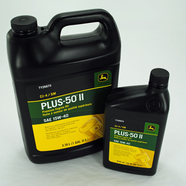 John Deere Plus 50 II Engine Oil Oxidation VS Rotella T ...
