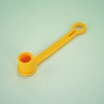 John Deere Hydraulic Hose Tip Cover - Yellow - M132021