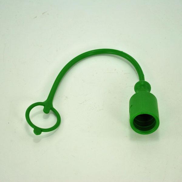 John Deere Hydraulic Hose Tip Cover Green W42991