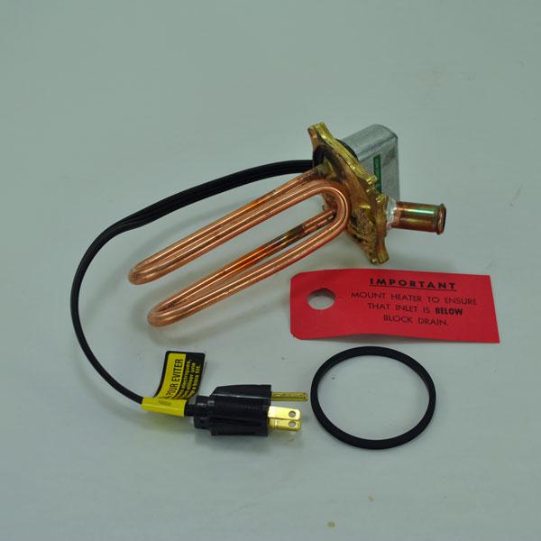 John Deere Engine Coolant Heater Element - AR42883