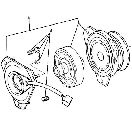 John Deere Electromagnetic Pto Clutch Assembly Some Models