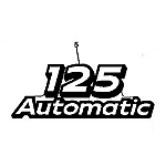 John Deere 125 Model Number Decal (2 required) - GX21868