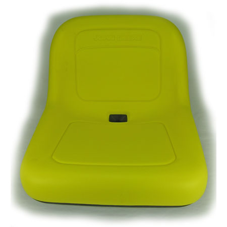 John Deere Complete Deluxe High-Back Seat Assembly - AM131157