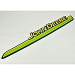John Deere Model G100 Left Hand Hood Stripe Decal - GX21172