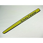 John Deere Left Hand Hood Stripe Decal - GX21913