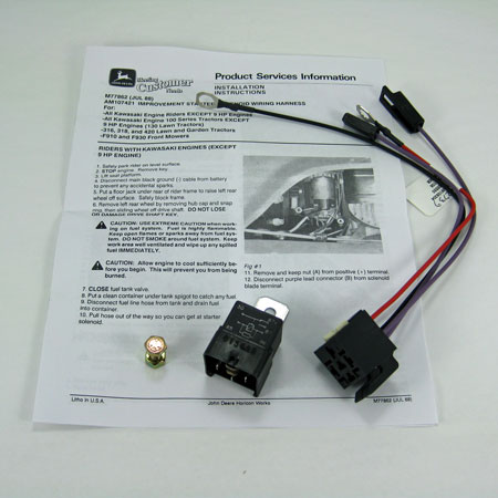 john deere starting improvement relay kit am107421 large john deere starting improvement relay kit am107421 John Deere 318 Onan Wiring at n-0.co