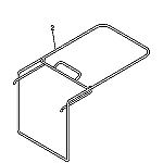 John Deere Grass Catcher Frame - GX21564