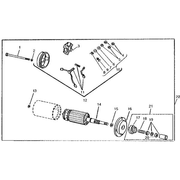 B43g Onan Motor