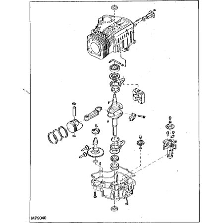 John Deere Short Block Assembly AM131151 – John Deere Tractor Wiring Harness Diagram