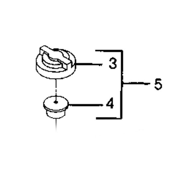 am878422 large john deere transaxle vent valve kit am878422