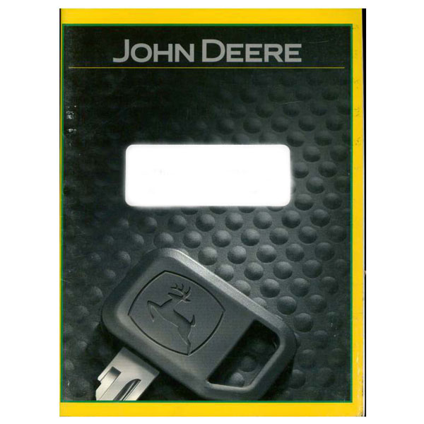 John Deere Technical Manual - TM609272