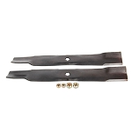 John Deere Blade Kit For 42C Mowers (Includes 2 Blades and Hardware) - AM141032