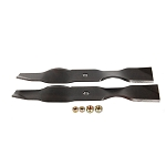 John Deere Mulching Blade Set for 38-inch Mower Deck - AM141040
