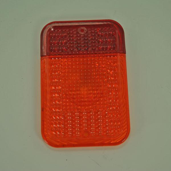 John Deere Tail Lamps : John deere red amber tail light lens lva